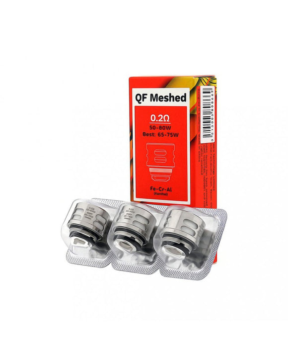 Vaporesso SKRR Replacement QF Meshed Coil 3pcs - 0.2 ohm - VAYYIP