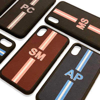 iPhone Cover- Stripes Personalisation
