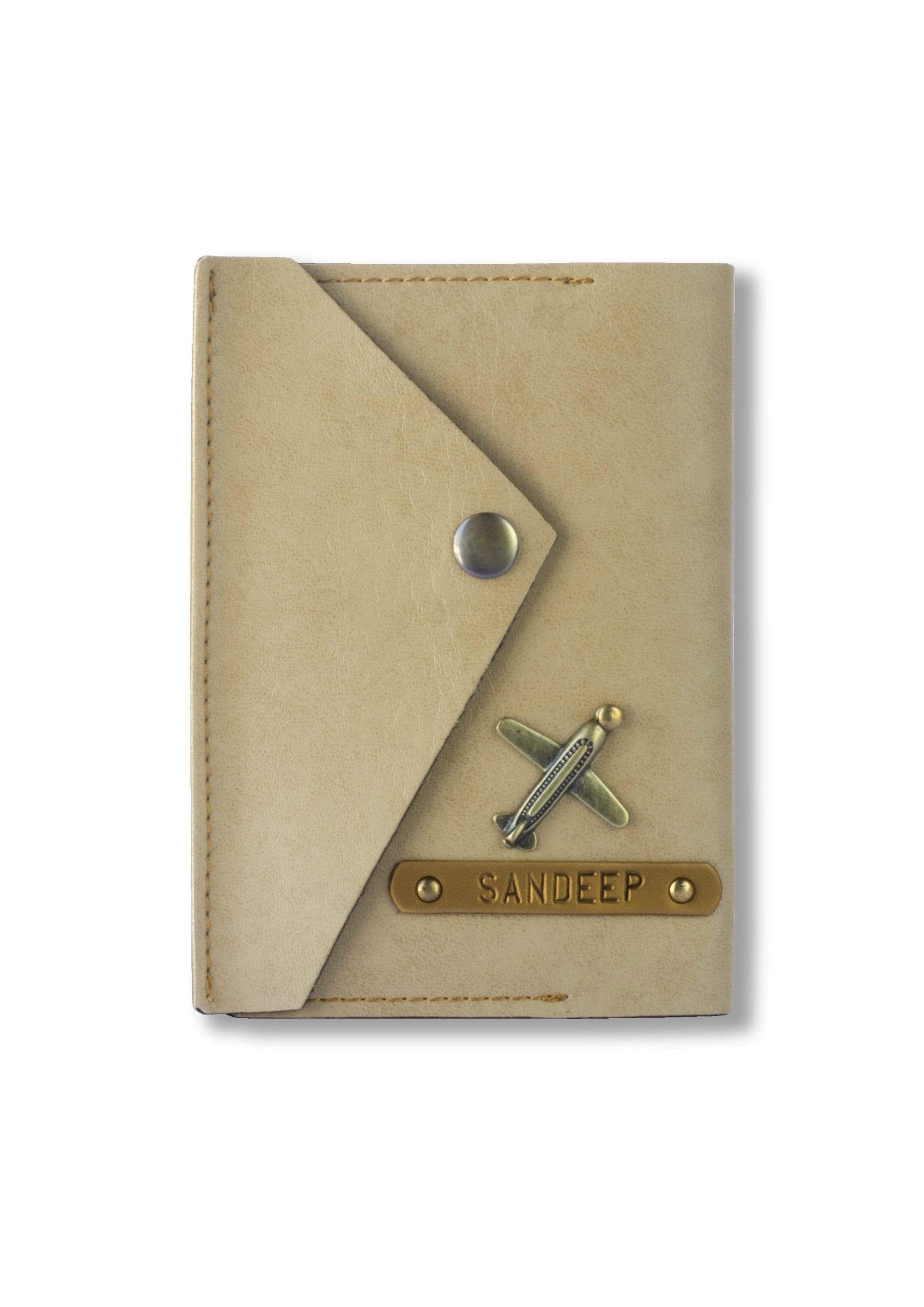 Beige Executive Passport Cover Executive Passport Cover
