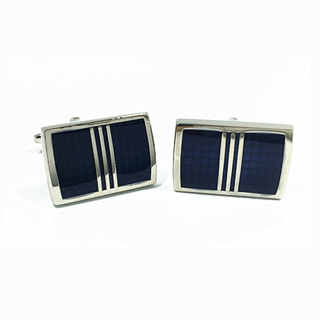 Cufflinks - Dark Blue Cufflinks