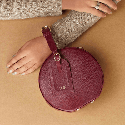 Designer Crossbody Bag - Stella Special Edition Burgundy