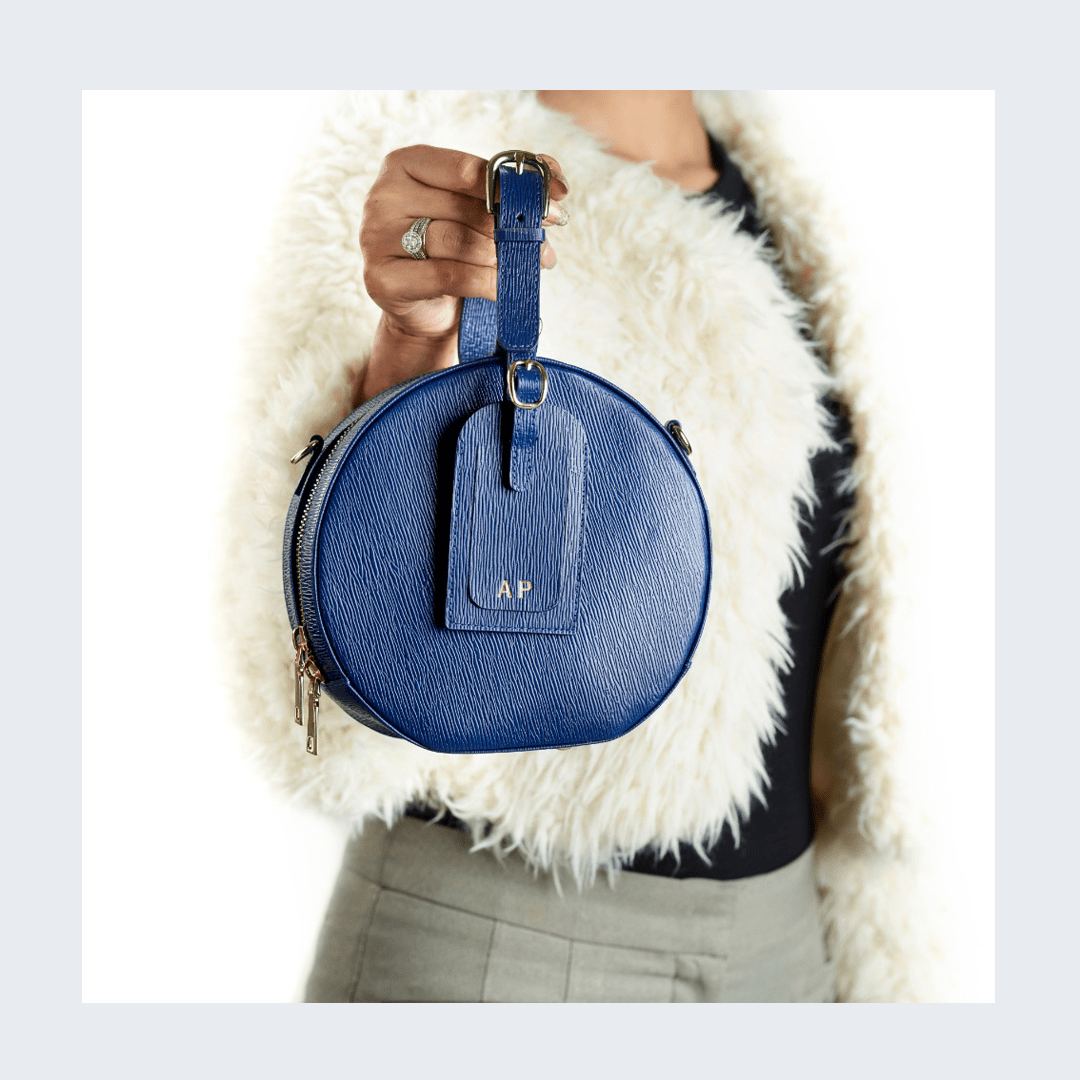 Designer Crossbody Bag - Stella Special Edition Midnight Blue