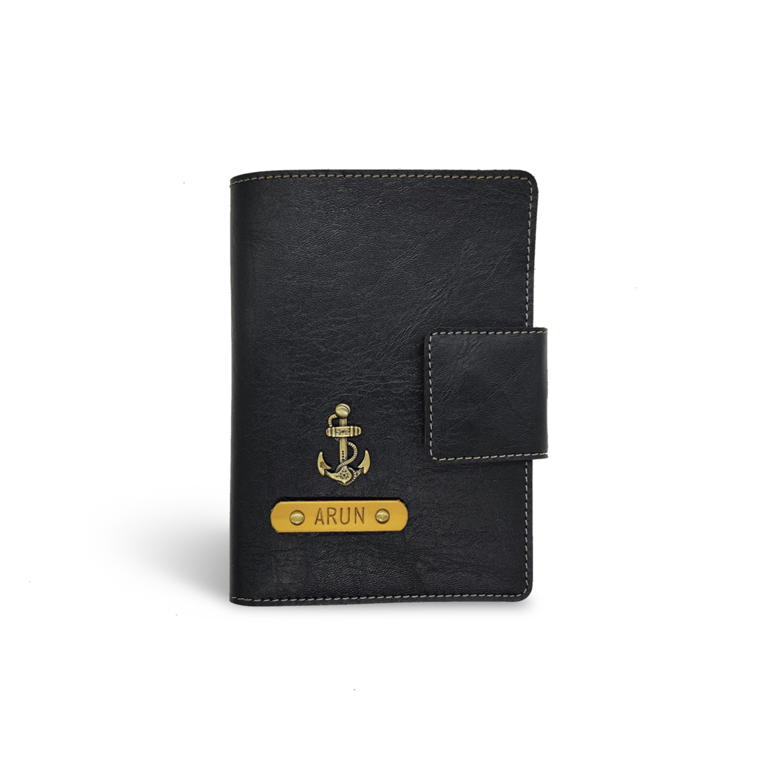 Mini Travel Wallet - Black Mini Travel Wallet