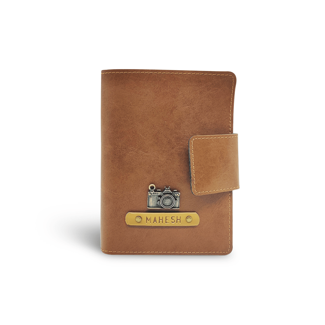 Mini Travel Wallet - Tan Mini Travel Wallet