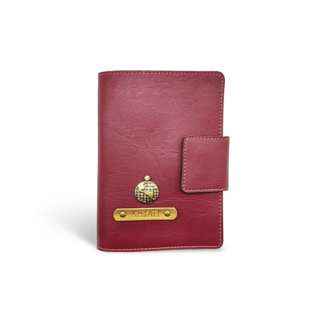 Mini Travel Wallet- Wine Mini Travel Wallet