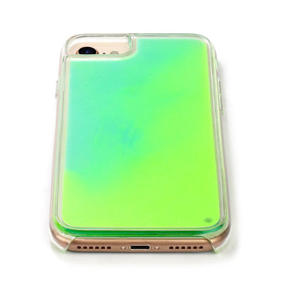 Neon Sand Case - Green & Yellow