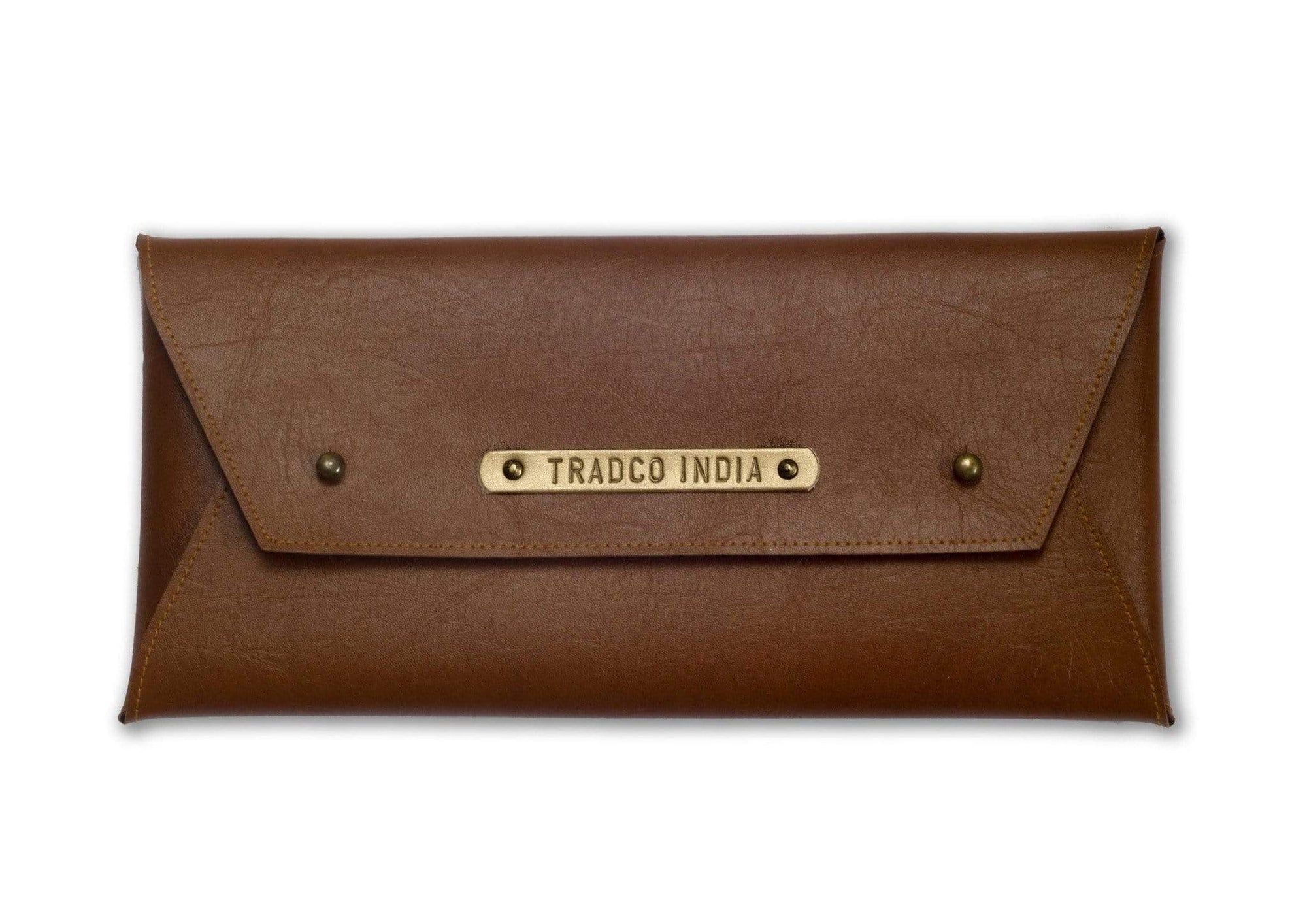Personalised Banking Folder - Tan Organizer
