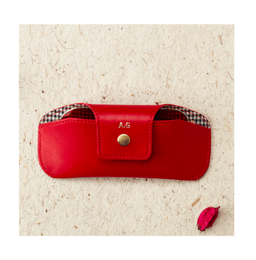 Personalised Eyewear Case - Red Eyewear Case
