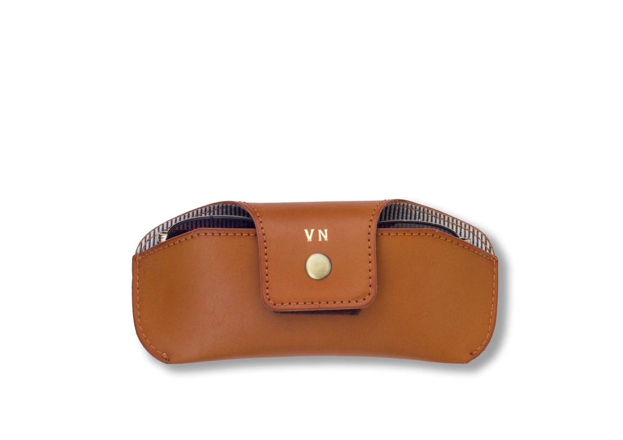 Personalised Eyewear Case - Tan Eyewear Case