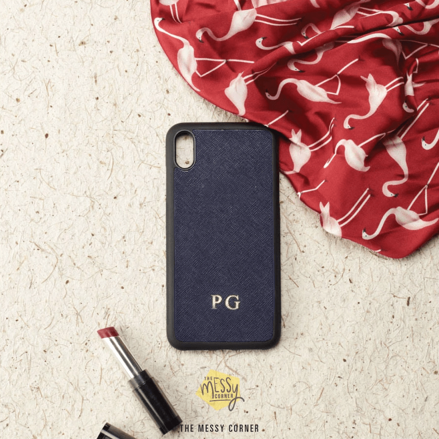 Personalised iPhone Cover - Deep Blue Phone Cover