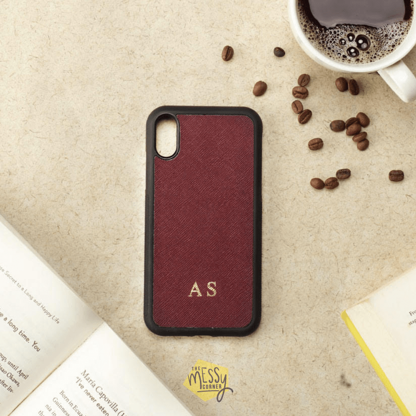 Personalised iPhone Cover - Wine Phone Cover