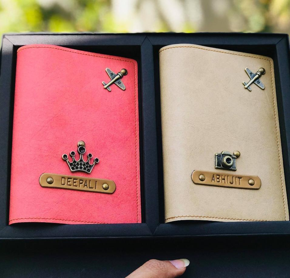 Personalized Couple Passport Cover Passport Cover