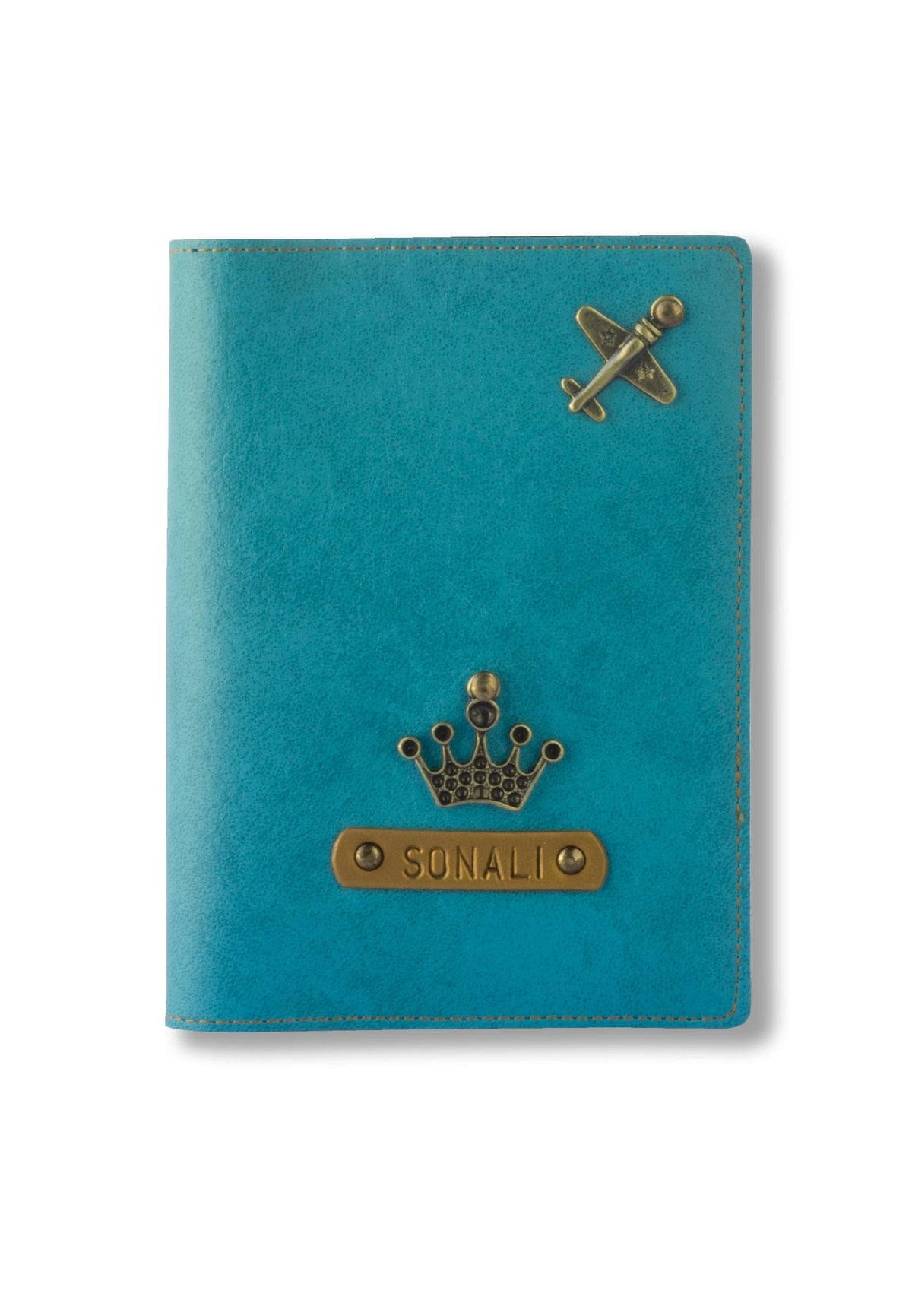Personalized Passport Cover - Light Blue Passport Cover