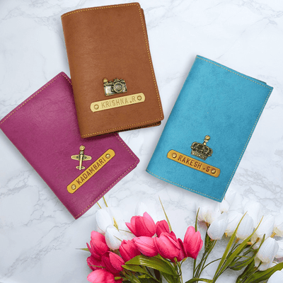 Personalized Passport Cover - Set of 3 Passport Cover