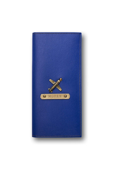 Personalized Travel Wallet - Dark Blue Travel Wallet