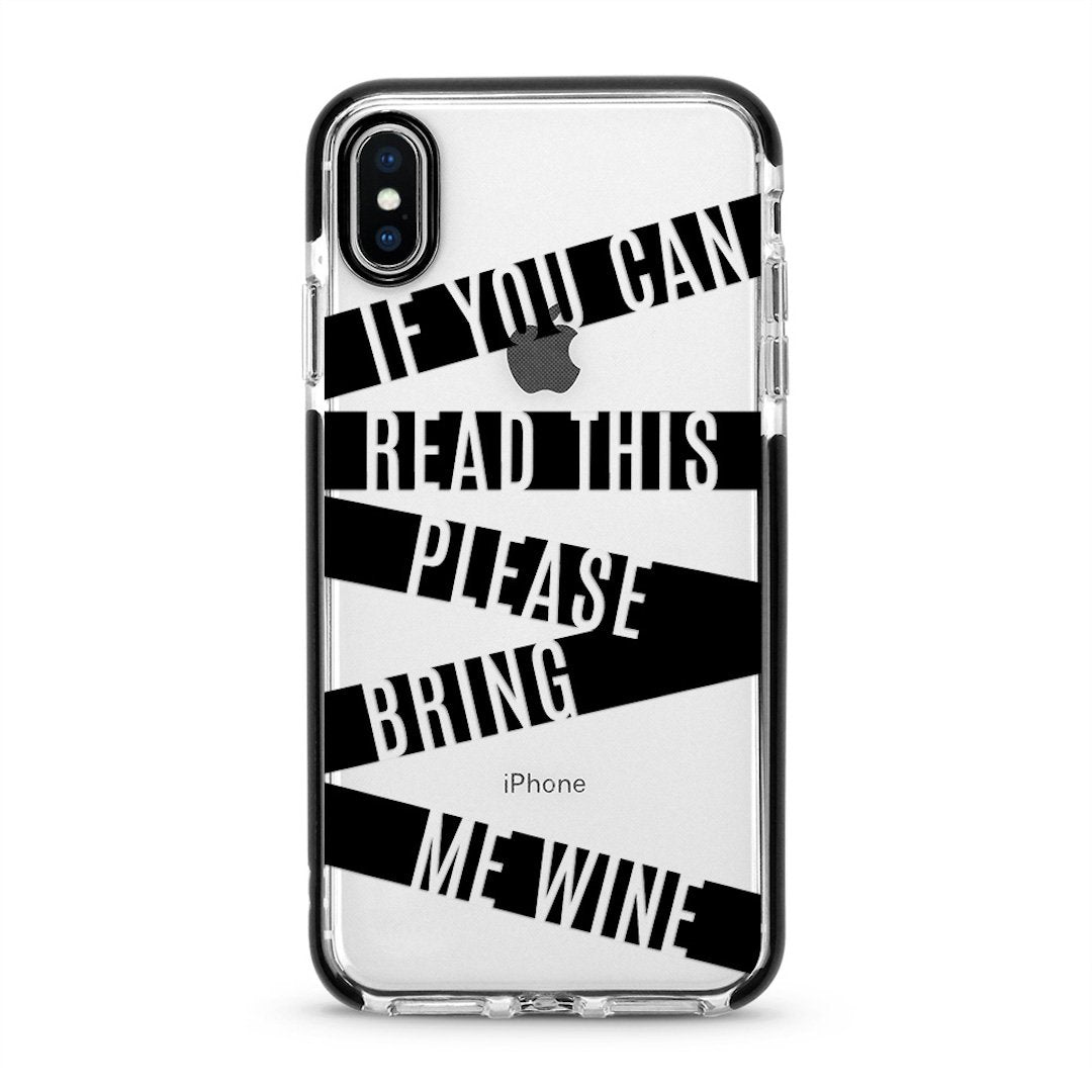 Bring Me Wine - iPhone Cover