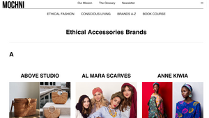 MOCHNI MAGAZINE : Ethical Accessories Brands