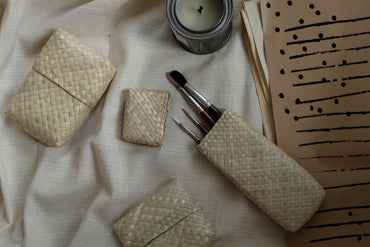 Woven Stationary Essentials - Natural