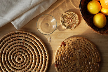 Woven Kitchen Essentials set - Natural