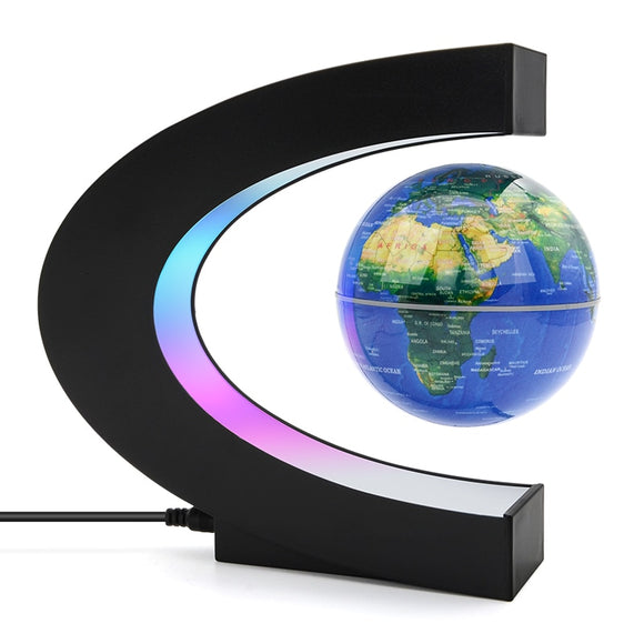 Magnetic Levitation Globe Night Light