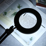 Desk Magnifier Lamp 8x | Powerful Clip On Magnifying Lamp