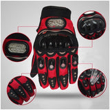 Pro Biker Touchpad Motorcycle Gloves | Winter Warm Riding Gloves