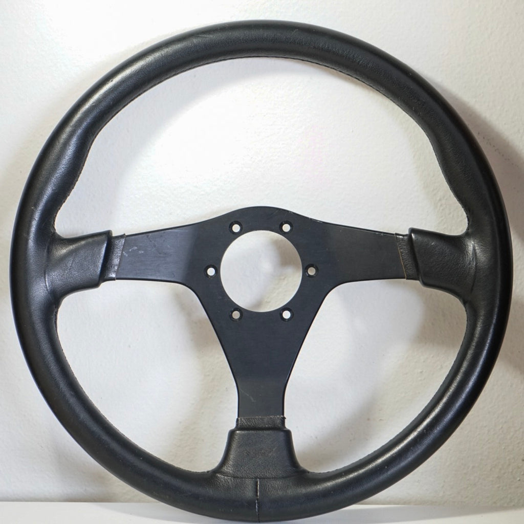 Nardi Gara 360mm Black Leather
