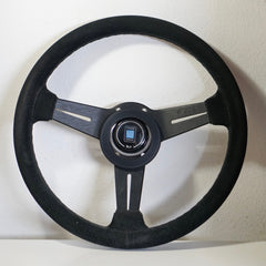 Nardi Competition 330mm Black/Black Suede