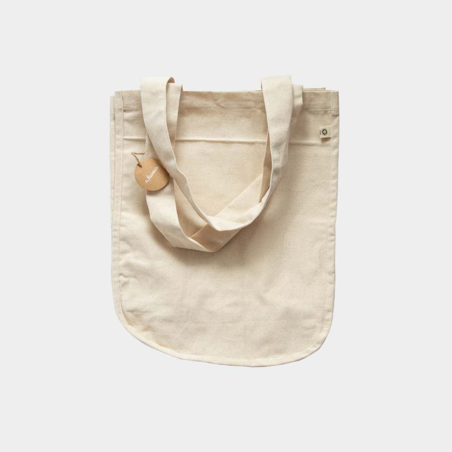 Multifunktionel tote bag med lommer