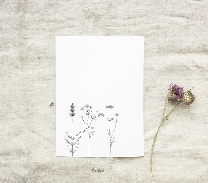 Free Printable - little flowers