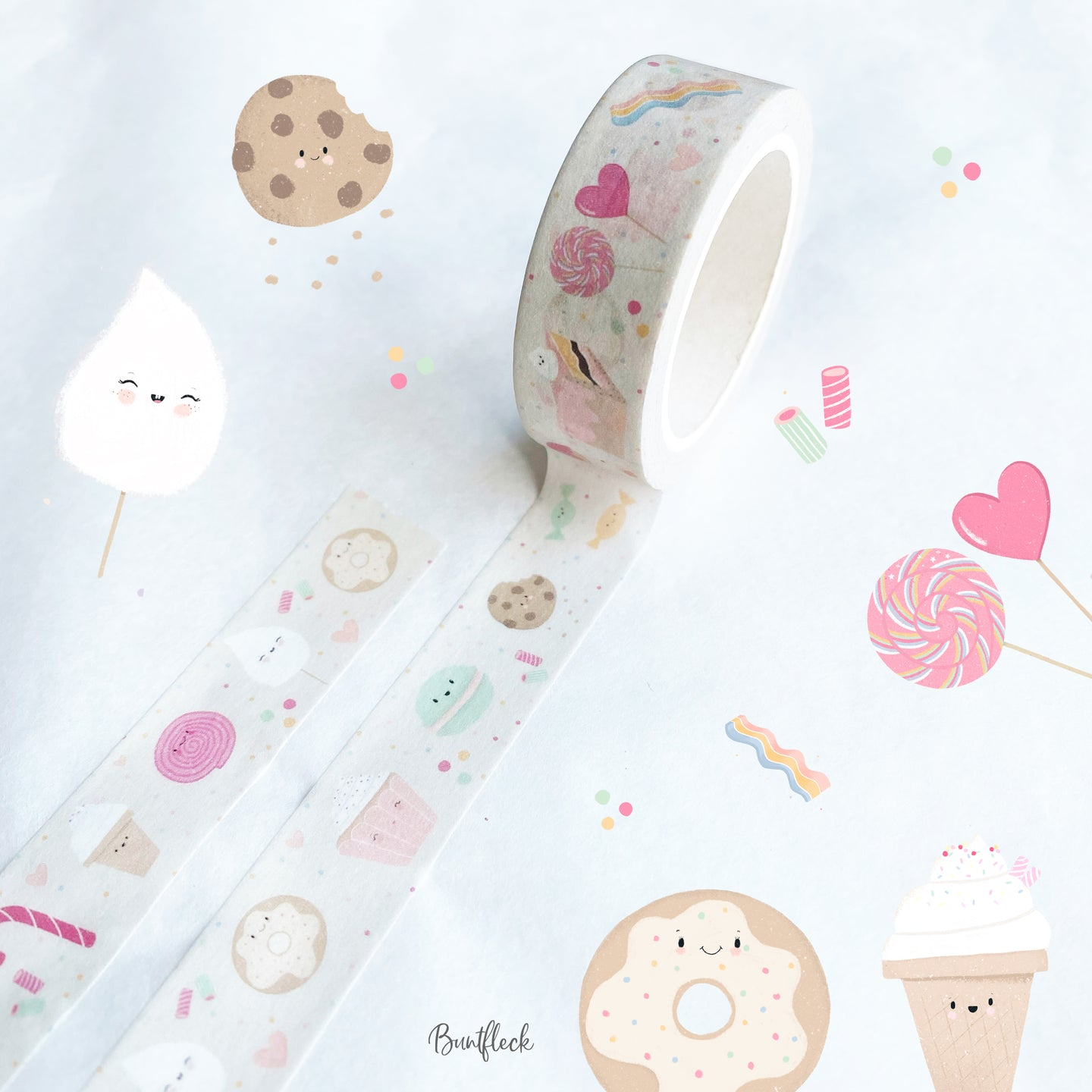 Washi Tape / Klebeband - Sweets