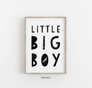 Kinderbild/Poster - little big boy