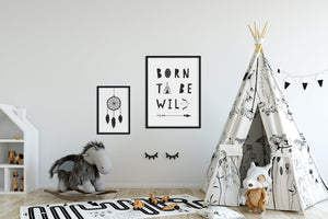 "Kinderplakat/Poster ""Born to be wild"""