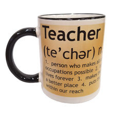 Load image into Gallery viewer, #1 TEACHER MUG
