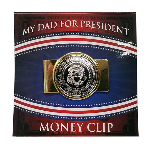 DAD FOR PRESIDENT MONEY CLIP