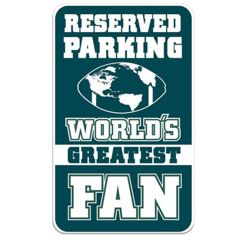 FAN ZONE PARKING SIGN