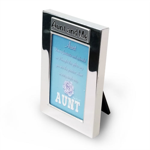 AUNT & ME PHOTO FRAME