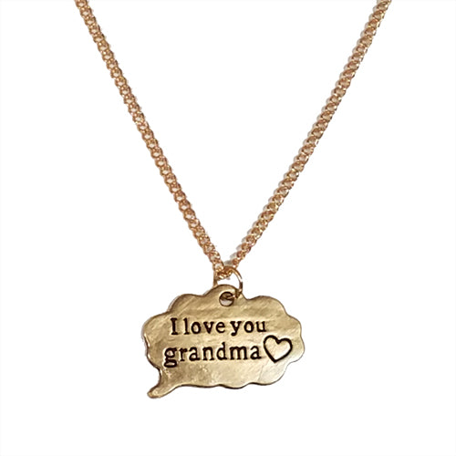 GRANDMA BUBBLE NECKLACE