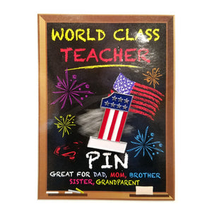 WORLD CLASS TEACHER PIN