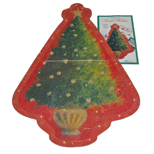 HOLIDAY TREE CARD HOLDER