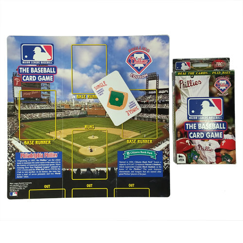 PHILLIES BASEBALL CARD GAME