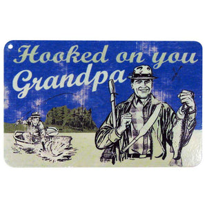 GRANDPA ANTIQUE METAL MAGNET
