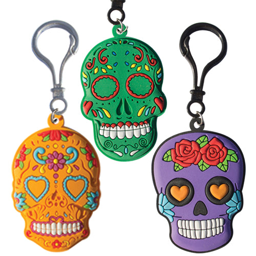 SUGAR SKULL BACK PACK CLIP