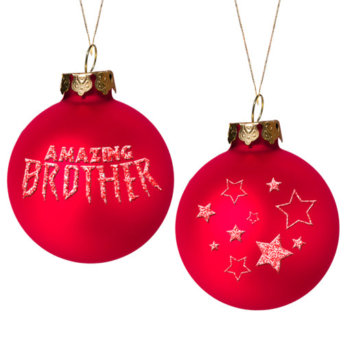AMAZING BROTHER ORNAMENT