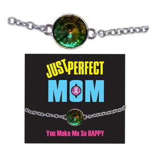 JUST PERFECT MOM GEMSTONE BRACELET