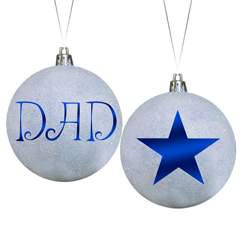 DAD STAR ORNAMENT