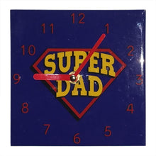 Load image into Gallery viewer, SUPER DAD WALL CLOCK