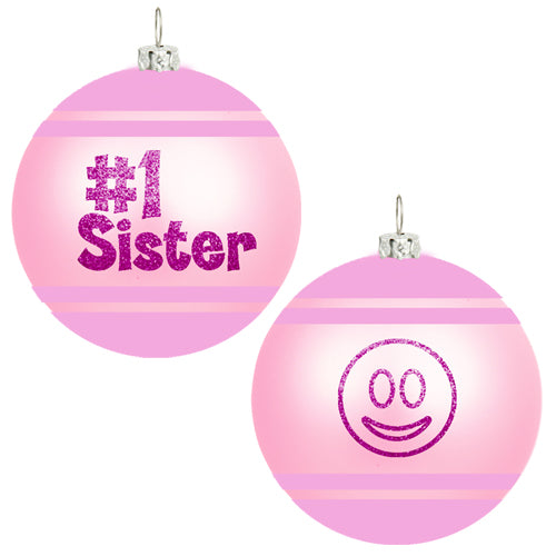 EMOJI SISTER ORNAMENT