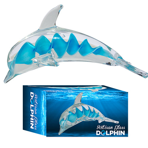 ARTISAN GLASS DOLPHIN