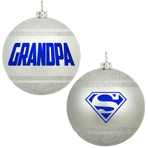 SUPER GRANDPA ORNAMENT